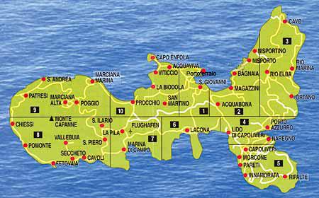 Elba Karte.Insel Elba Mit Hund Insel Elba Toskana Toscana Meer Italien